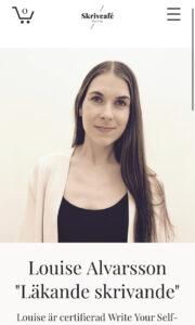 Louise Alvarsson Läkande skrivande